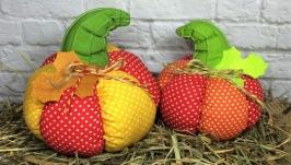 Набор интерьерных игрушек ручной работы ′Тыквы′