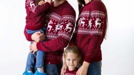Сімейна колекція ′Різдвяні олені′