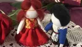Ляльки мотанки«Закохані»