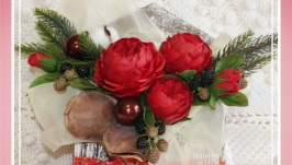 Рождественский венок ′Письмо деду Морозу′