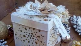 Новорічний Magic box Шампанське з золотом