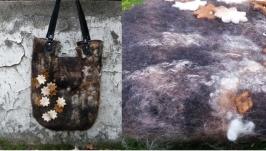 сумка ′Зимняя′ - авторский войлок