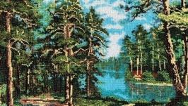 «Озеро в сосновом бору» по мотивам худ. Зайцева