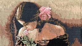 Дівчина з розою (Девушка с розой)