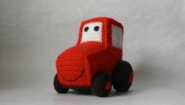 Вязаный трактор