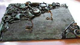 Ключница ′Загадочные механизмы′ в стиле Стимпанк (Steampunk)