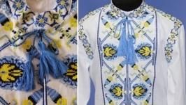 Вышиванка, вышитая рубашка для мальчика