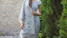 Платье в комплекте с палантином из коллекции Пастель