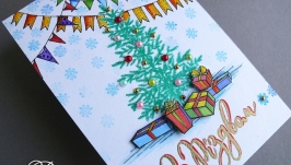 Открытка ′З Різдвом′