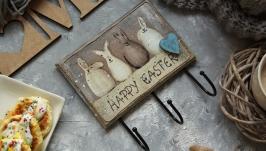 ключница счастливый кролик