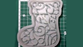 ′Різдвяний чобіток′ Силіконова форма для печива та пряників