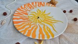 Декоративная тарелка ′Наутилус′