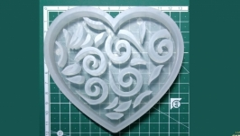 ′Сердечко′ Силіконова форма для печива та пряників