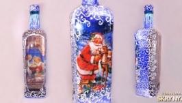 Бутылочка ′Новорічна казка′