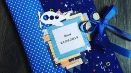 Блокнотик Мамины заметки для мальчика в космическом стиле