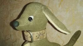 Собака Песик Щенок Мягкая игрушка Ручная работа