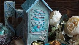 Чайный домик ′Бирюзовые грезы′