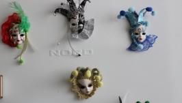 Венецианские маски магниты
