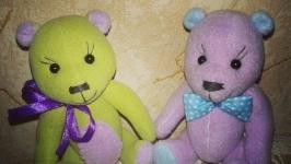 Мишка Тедди Малыш Медвежонок флисовый Тедди мягкая игрушка