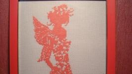 Картина ′Фея′ вышивка крестом