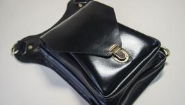 Кожаная сумка на бедро Psn17