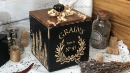 Короб из дерева ′Grains′