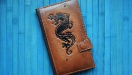 Кожаный кошелек ′ДРАКОН′