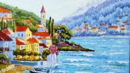 Картина маслом ′Средиземноморье -1′
