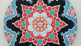 тарілка декоративна ′Ізнікський візерунок′