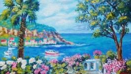 Картина маслом ′Средиземноморье -2′