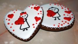 Набор пряников ко дню Св. Валентина