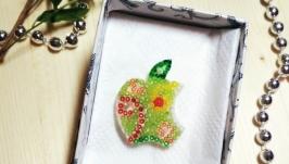 кулон яблоко