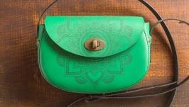 Шкіряна сумка  Aura_Indi
