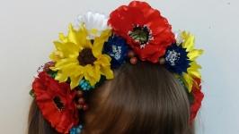 Об′ємний український вінок