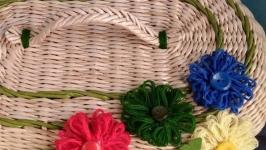 Хлебница плетёная ′Весна′
