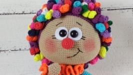 Кукла Бонни в костюме Клоуна