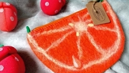 Клатч ′ Апельсинка′