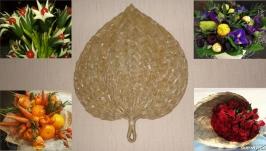 Упаковка для овощных и фруктовых букетов, цветов