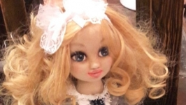 Интерьерная текстильная кукла Злата