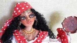 Интерьерная кукла ′Цыганка′