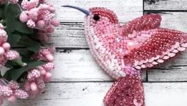 Колибри розовый