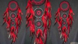 Ловец снов красный