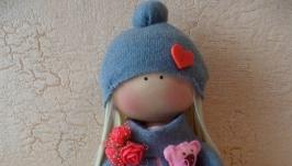 Кукла интерьерная игровая в стиле Тильда