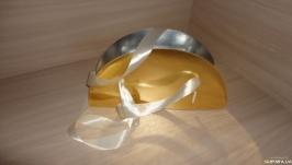 Коробка для цветов Восход солнца - золотой
