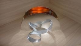 Коробка для цветов Восход солнца - серебряный