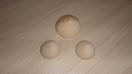 Половина шара (полусфера) деревянная 5 см