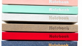 Блокнот Notebook Active My perfect day А5 недатированный на год 11 цветов