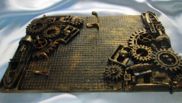 Ключница в стиле Стимпанк Steampunk, для ключей, для прихожей, дачи