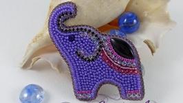 Брошь ′Индийский слон′