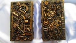 Шкатулки-купюрницы выполнены в стиле Стимпанк (Steampunk)